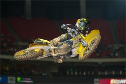 BAGGETT SCORES FIFTH AT ATLANTA SX