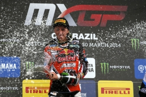 CAIROLI AT HIS GOLDEN BEST IN BRAZIL MXGP