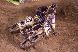 ROCKSTAR ENERGY HUSQVARNA'S  JASON ANDERSON FINISHES 9TH AT ANAHEIM