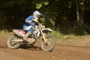 Husqvarna's DeLong fifth at Unadilla GNCC