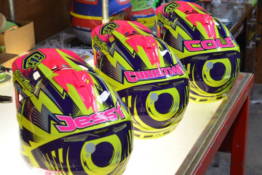 Troy Lee Designs A3 Auction for Cancer Awareness