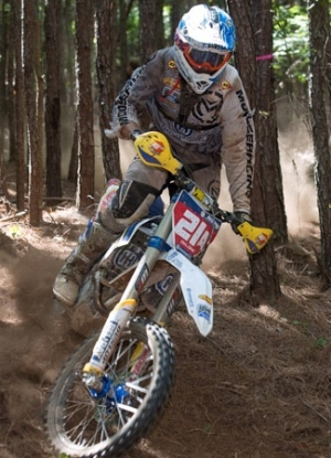 Husqvarna's Andrew DeLong One Step Closer at South Carolina National Enduro